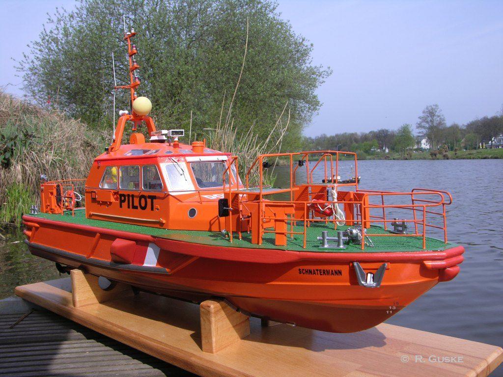 Lotsenboot SCHNATERMANN