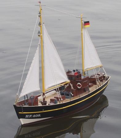 """Fischkutter """"H.F. 408 ELKE"""""""