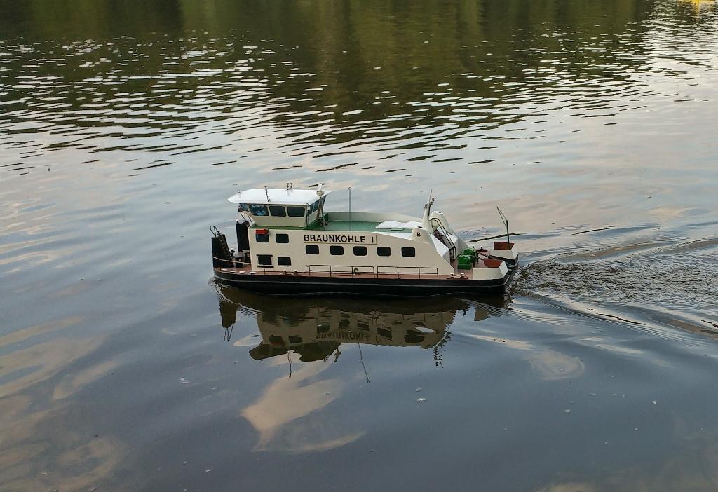 Schubschiff BRAUNKOHLE I