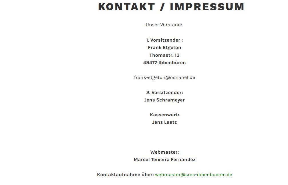 Kontakt / Impressum