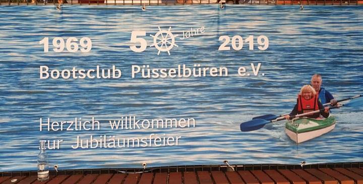 50. Jubiläum Bootsclub Püsselbüren